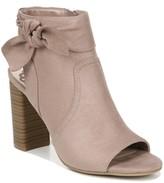 Fergalicious Monica City Peep Toe Dress Booties Women's Shoes