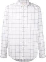 Folk Storm check shirt - men - Cotton - 2