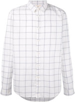 Folk Storm check shirt - men - Cotton - 3