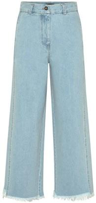 Bleach Wide Leg Jeans