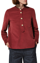 Toast Needlecord Shirt, Boysenberry