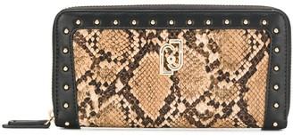 Liu Jo snakeskin effect wallet