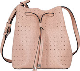 Lodis Women's Blair Perforated Blake Small Drawstring Bucket Bag
