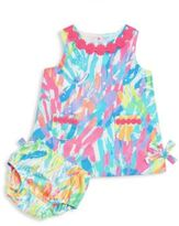 Lilly Pulitzer Baby's Lilly Two-Piece Printed Shift Dress & Bloomers Set
