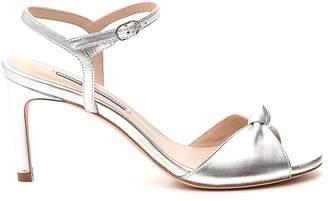 Stuart Weitzman Gloria Open Toe Heeled Sandals