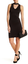 Blvd V-Cutout Sheath Dress