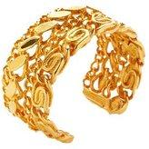 Tom Binns Bracelet, -Tone Plated Brass Still Life Cutout Cuff Bracelet