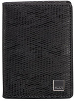 Tumi Monaco Gusseted Card Case with ID Lock Technology, Black