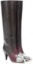 Isabel Marant Laomi leather patchwork boots