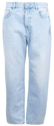 Replay Straight Leg High Waisted Jeans
