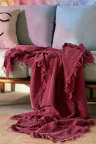 Urban Outfitters Maria Crinkle Throw Blanket
