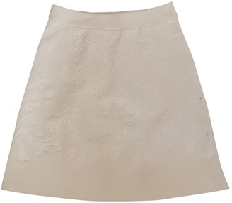 Stella McCartney Stella Mc Cartney Ecru Wool Skirt for Women