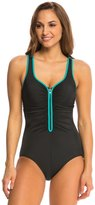 Reebok Zig Zag One Piece Swimsuit 8140486