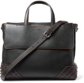 Tod's Gommini Full-Grain Leather Tote Bag