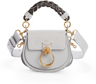 Chloé Small Tess Calfskin Leather Shoulder Bag