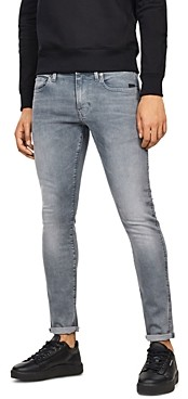 G Star Revend Skinny Fit Jeans in Faded Industrial Gray