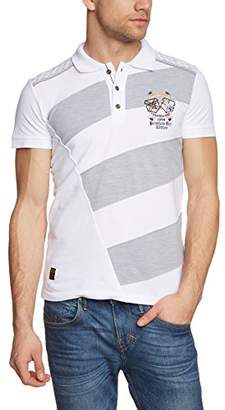 Melange Home Redbridge Men's R41205 Polo Shirt, Grau (Grey 032)