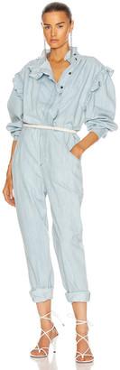 Etoile Isabel Marant Gayle Jumpsuit in Light Blue | FWRD