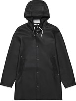 Stutterheim Black Womens Stockholm Raincoat - XXS - Black