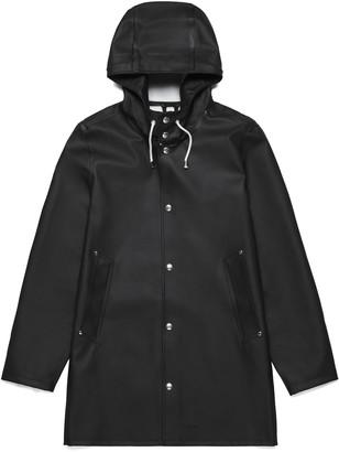Stutterheim Black Womens Stockholm Raincoat - XXS - Black