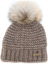 Norton Co. knit pom pom beanie