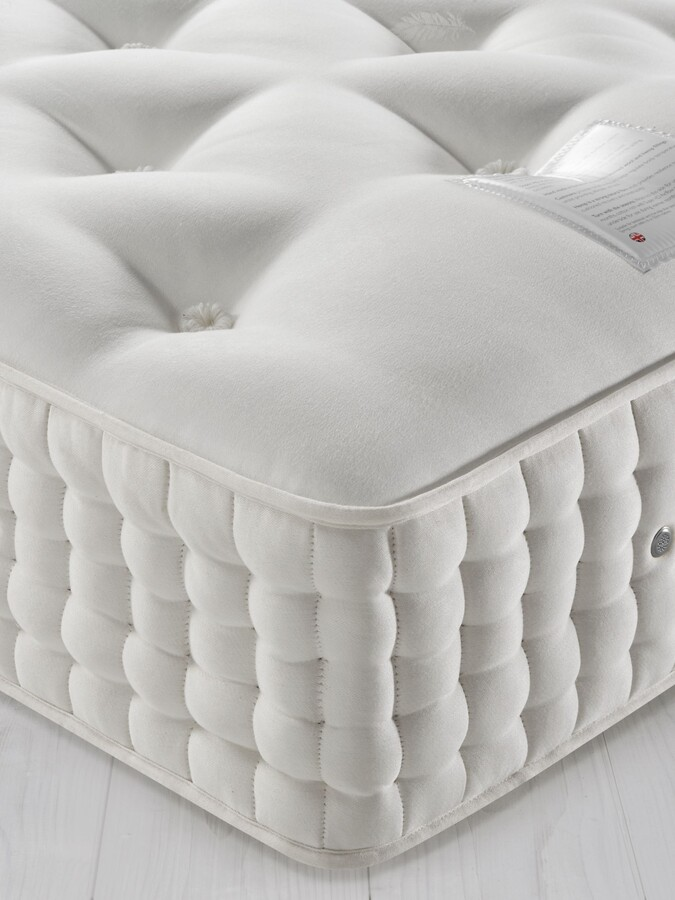 John Lewis & Partners Natural Collection Cashmere 26400, Single, Firm Tension Pocket Spring Mattress
