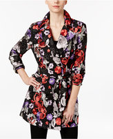 INC International Concepts Embroidered Trench Coat, Only at Macy's