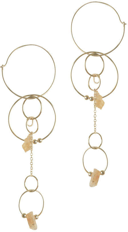 Zimmermann Citrine Statement Drop Earring