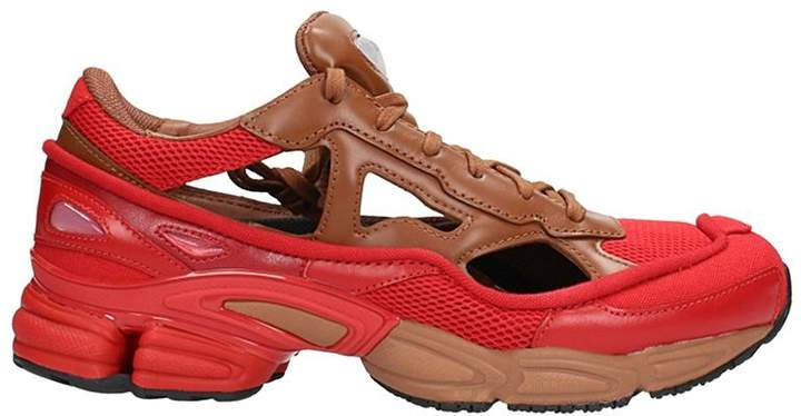 Adidas By Raf Simons Rs Replican Ozweego Limited Red/brown Sneakers