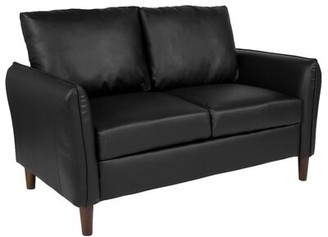 O'Neill Loveseat Williston Forge Upholstery Color: Black