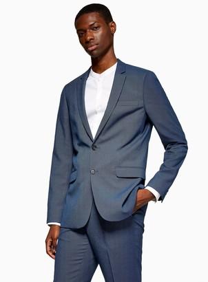TopmanTopman Blue Two Tone Jacket