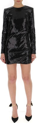 Amen Sequinned Embellished Mini Dress