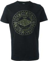 Diesel front print T-shirt - men - Cotton - S