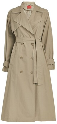 Max & Co. Double-Breasted Trench Coat