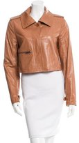 Yigal Azrouel Cropped Button-Up Jacket
