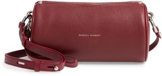 Rebecca Minkoff Leather Barrel Crossbody Bag