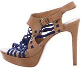 Pour La Victoire Cage Platform Sandals