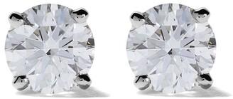 De Beers Platinum My First DB Classic diamond stud earrings