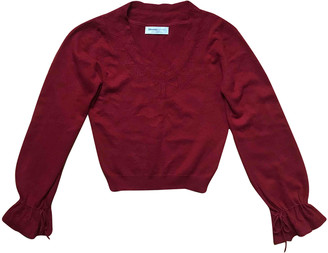 Johnstons of Elgin Red Cashmere Knitwear