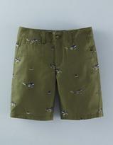Boden Printed Chino Shorts