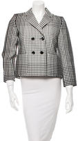 Marc Jacobs Double-Breasted Notched-Lapel Blazer