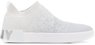 DKNY Gradient Weave 25mm Low-Top Sneakers
