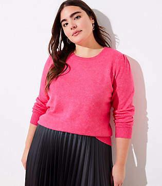 LOFT Plus Puff Sleeve Sweater
