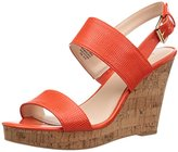 Nine West Women's Lucini Synthetic Wedge Pump
