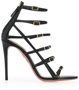 Aquazzura Supermodel Buckle Sandals