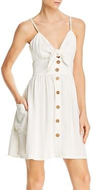 Roxy Under the Cali Sun Tie-Front Dress