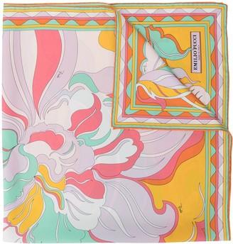 Emilio Pucci Rivera print scarf