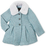 Jessica Simpson Toddler Girls) Faux Fur Collar Jacket
