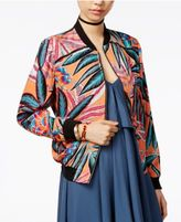 BB Dakota Jungle Sunrise Printed Bomber Jacket