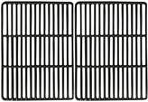 Music City Metals 68822 Gloss Cast Iron Cooking Grid Set for Blooma and Outback Brand Gas Grills - Black (2-Piece)
